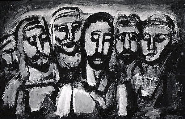 Charles Roault,  Christ and his Apostles , 1937.