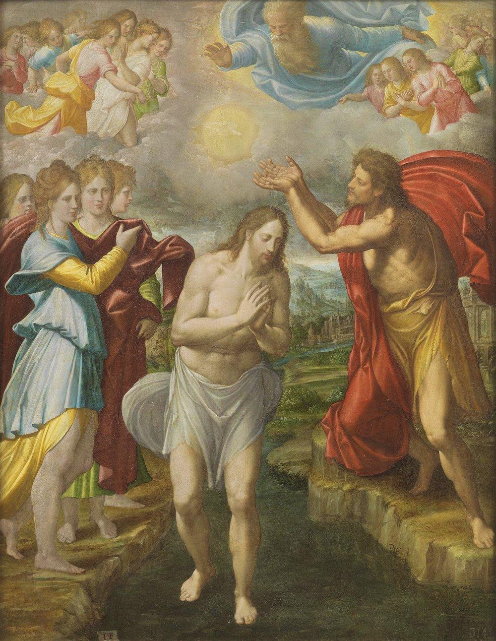 Bautismo de Cristo by Juan Fernández de Navarrete 1567.jpg