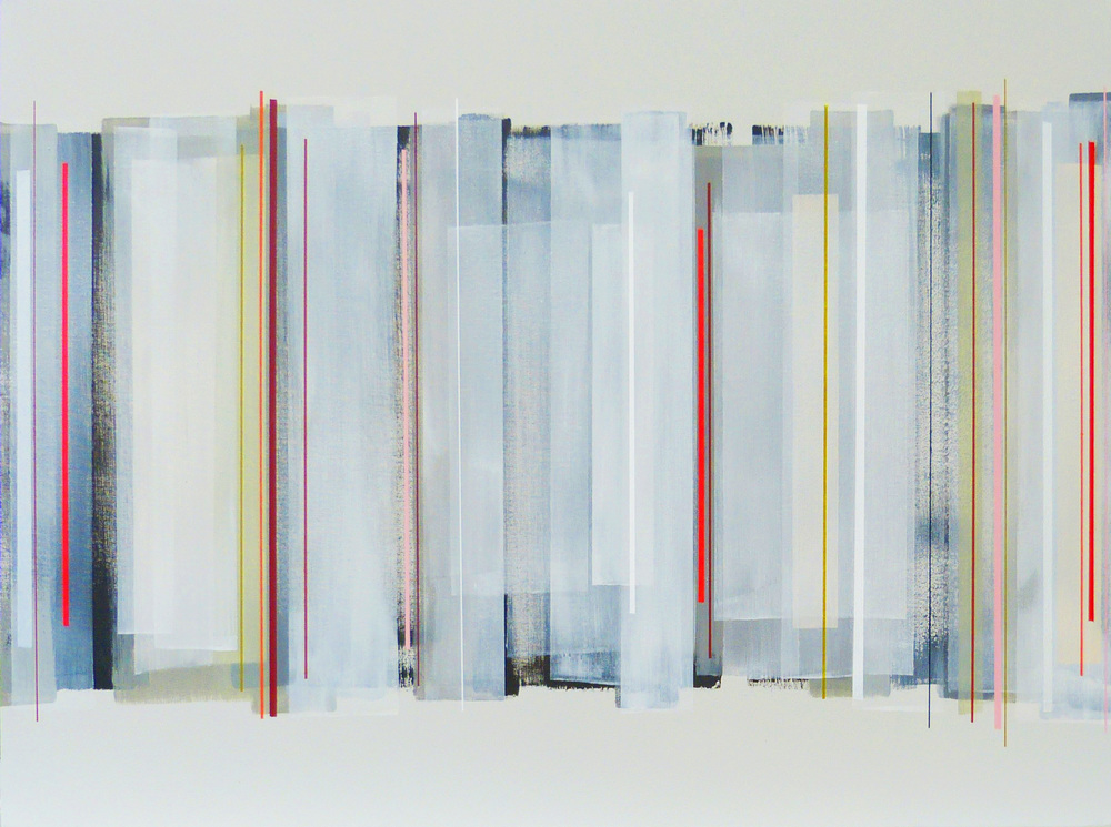 HENLEY 102x76cm | mixed media on canvas with high gloss epoxy resin |  £1700.00 | SOLD