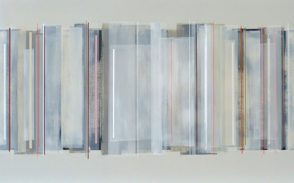 HECTOR 122x76cm | mixed media on canvas with high gloss epoxy resin |  £1700.00 | SOLD