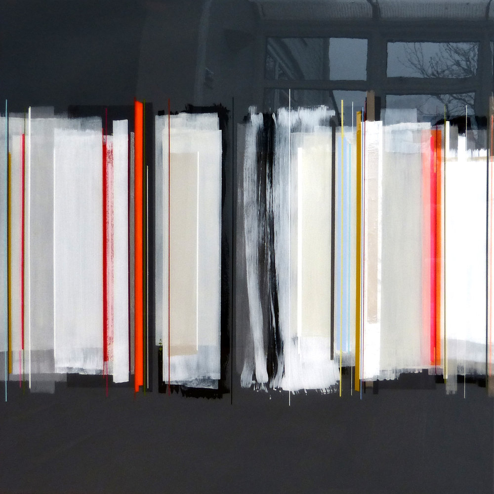 DANZON | 90x90cm | mixed media on board with high gloss epoxy resin |  £2,400.00 |
