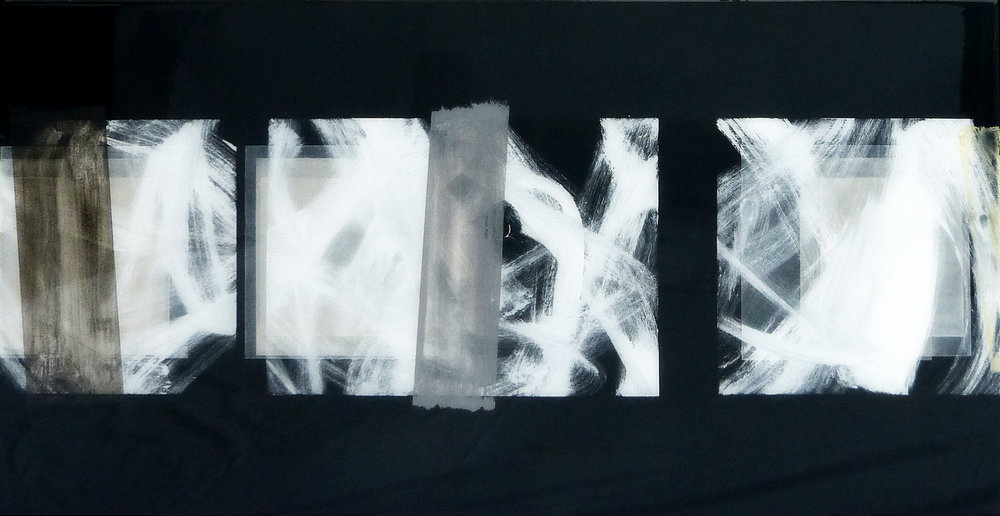 SARGASSO SEA | 124x64cm | mixed media on board with high gloss epoxy resin | £2,100.00 | SOLD
