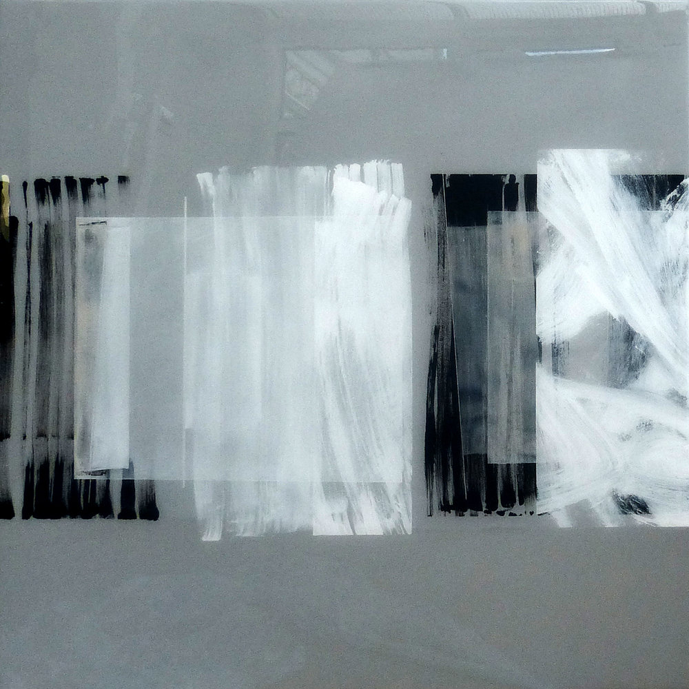 WILBER | 90x90cm | mixed media on board with high gloss epoxy resin |  £1900.00 | SOLD