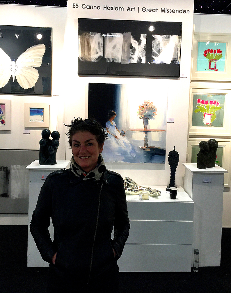 Affordable Art Fair Battersea with Carina Haslem Art