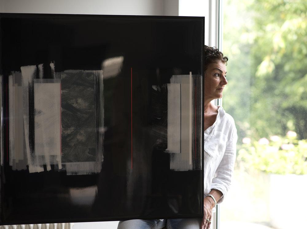ARTURO | 90x90cm | mixed media on board with high gloss epoxy resin |  £3,500.00 |