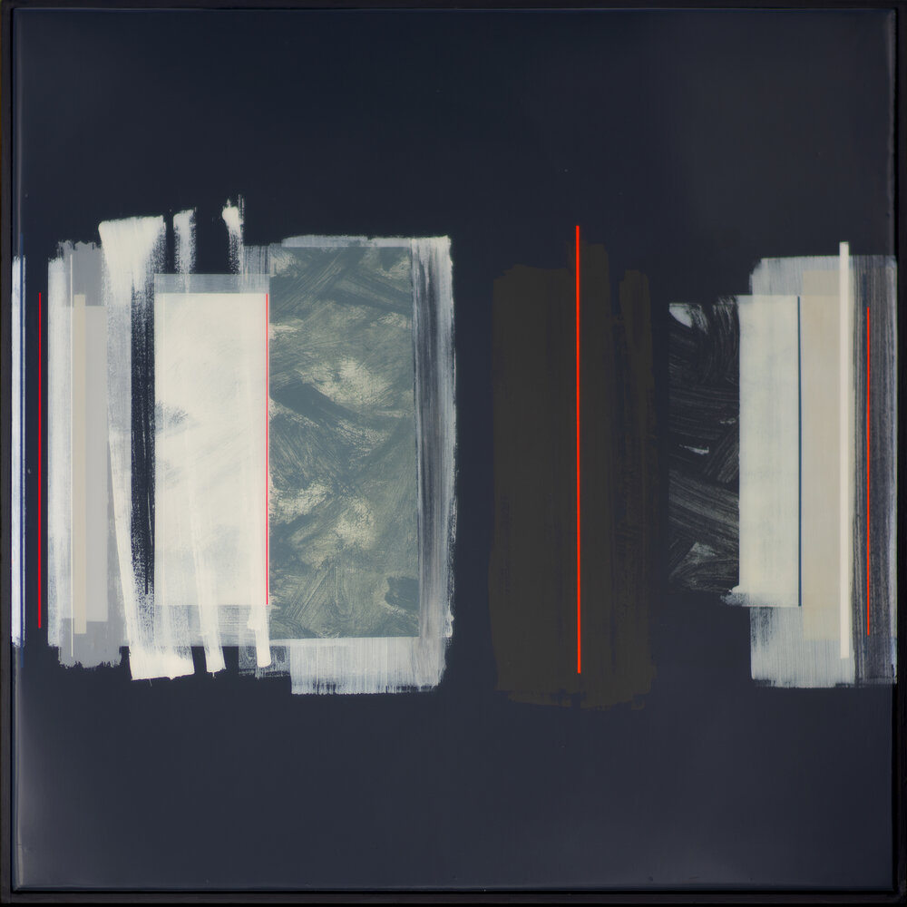 ARTURO | 90x90cm | mixed media on board with high gloss epoxy resin |  £3,500.00 |