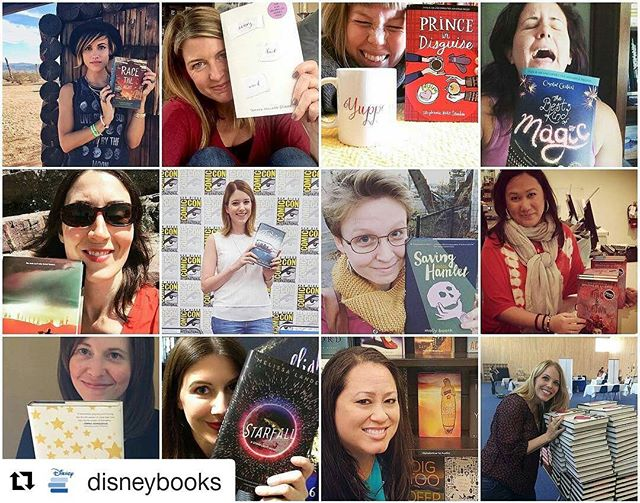 Happy to be a part of such an amazing group of women!  #Repost @disneybooks ・・・ Happy #InternationalWomensDay! Who is your favorite female author? These are just a few of our favorites ❤