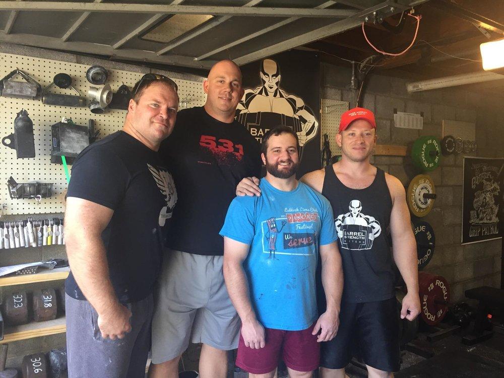 Nashville Venue Competitors (from left: Tim Fox, Tim Dial, Mike Rogowski, Gil Goodman)