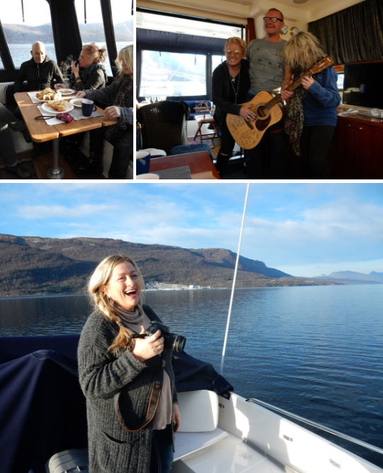 NTB Out on the Fjord, Norway, great noat trip courtesy of Gier& Tove...