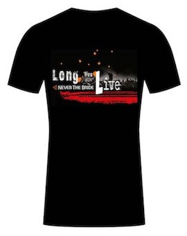 Click image for 'Long Live LIVE' T-Shirt