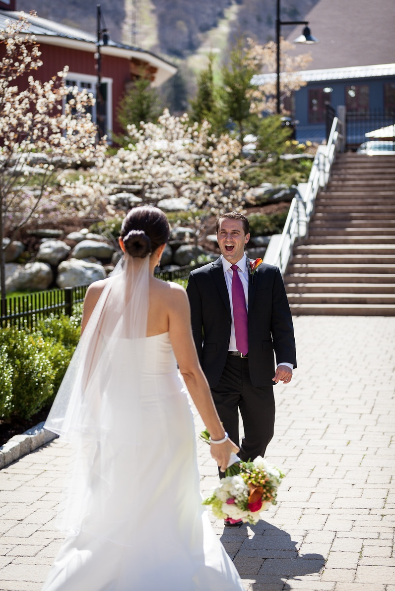 Photo by Corey Hendrickson Weddings at Sugarbush Resort in Warren, Vermont.