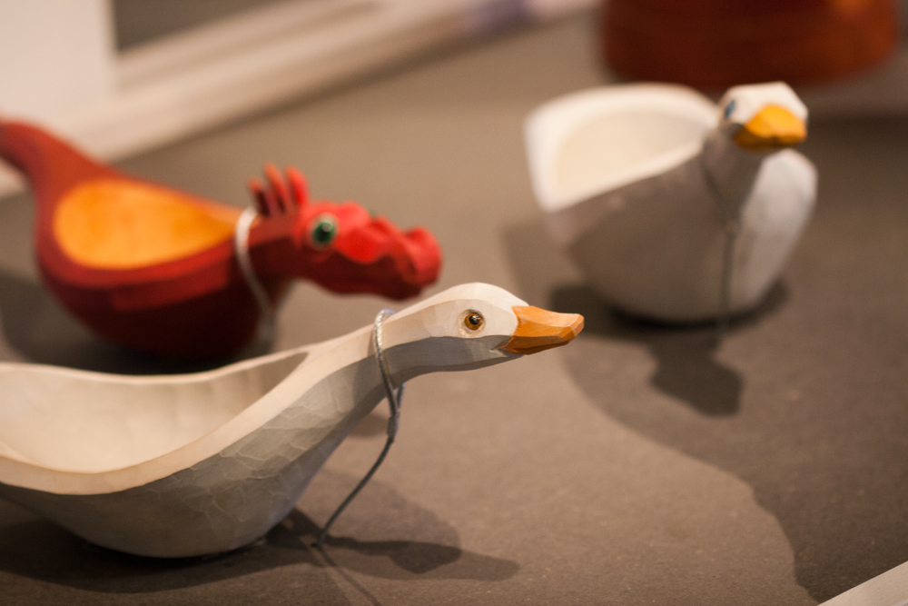 Duck and dragon bowls by Anja Sundberg