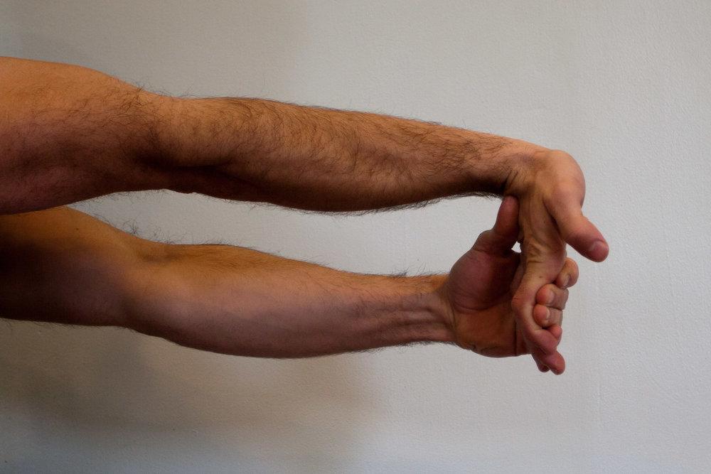 Palm Up Wrist Stretch