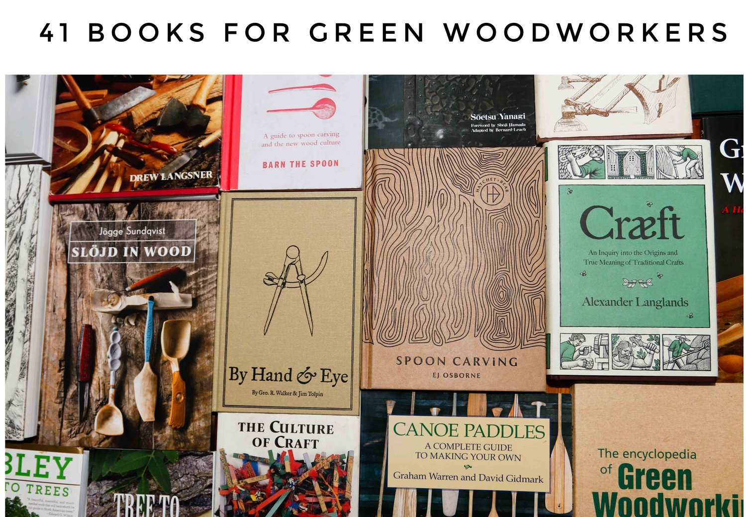 41 Wood Carving and Design Books — Sylva Spoon