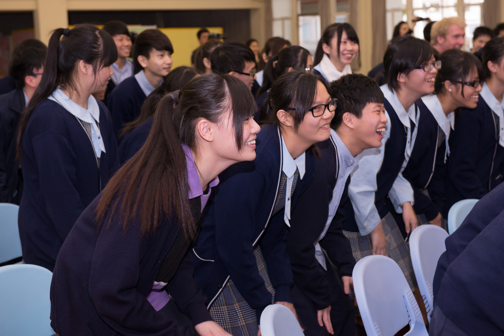 The Oxford Gargoyles taught a choral workshop to students at Yu Kan Hing Secondary School in Hong Kong.