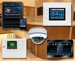 - Lighting control - Whole House On/Off features along with other customizable scenesVideo Surveillance cameras around perimeter of home. View cameras from phone when home or awayAlarm systems with self monitoring optionsSmart front door lock controlled from phoneVideo Door bell Installation. Motorized Shades solutions.