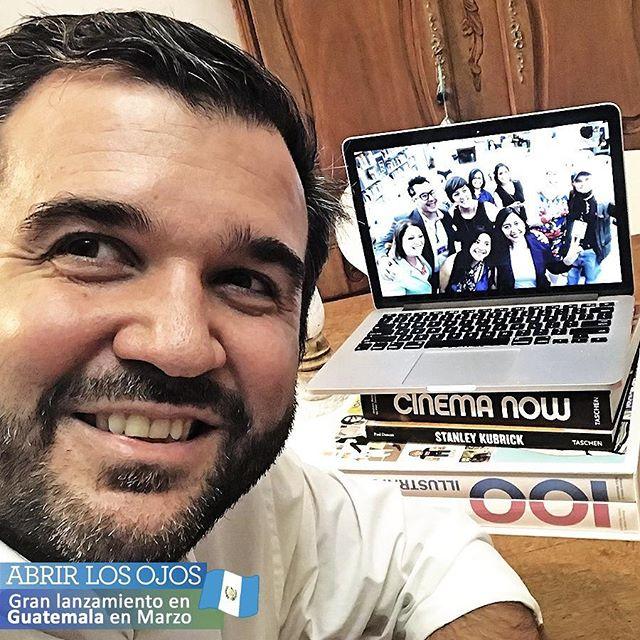 ¡Está todo listo para el lanzamiento de #AbrirLosOjos en #Guatemala de la mano de @fundalgt! 🙌 Y los quiero invitar a todos a seguirme en mi nueva cuenta personal de #Instagram ➡️ @guidofcornide para contarles el paso a paso de todo lo que estaré viviendo de una forma única. . #Libro #SordoCeguera #FUNDAL #Ceguera #discapacidad #motivacion #inspiracion #lanzamiento #charlas #fuerza #esperanza #argentina #escritor #felicidad