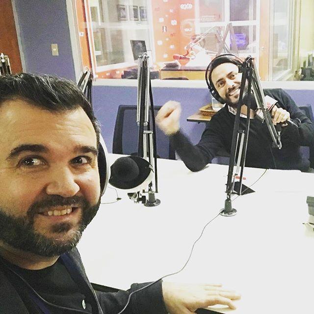 ¡Muchas gracias @radiopunto de #Guatemala por el gran recibimiento en el programa #ConSentidoHumano! 🎙️. . . #AbrirLosOjos #Entrevista #Libro