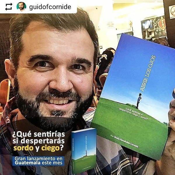 TODAS LAS FOTOS EN ➡️ @guidofcornide・・・ . 🇬🇹 ¡Muchas gracias #GUATEMALA! ¡Es increíble todo lo que viví y estoy muy feliz! Comparto con ustedes postales de algunos de los eventos en los que participe de la mano de @fundalgt 🙌. . 🔻 ¿Quedarse ciego para aprender a ver de una mejor manera? ¿Perder la audición para poder comprender al que se escucha? En #AbrirLosOjos los invito a adentrarse en la oscuridad más silenciosa que me tocó vivir, para luego poder disfrutar de las cosas más simples de la vida. . 🛑 Para adquirir el libro en Guatemala los invito a contactar a FUNDAL quienes les dirán cómo podrán hacerlo: informacion@fundal.org.gt. . 🔹 Guido Fernandez Cornide 🌍 www.abrirlosojos.net 📩 contacto@abrirlosojos.net. . . #Libro #Guatemala #Motivacional #inspiracion #frases #inspiration #inspiraciondiaria #inspiración #inspiracionpositiva #inspiracional #inspiracionenlibros #motivacion  #fuerza #motivacion #vida