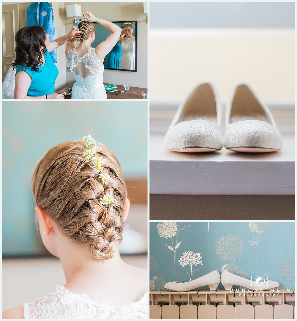 Weddings at Avon Gorge Hotel - Bridal Preparation and Shoes