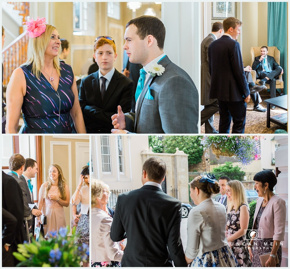 Weddings at Avon Gorge Hotel - Candid Wedding Photography