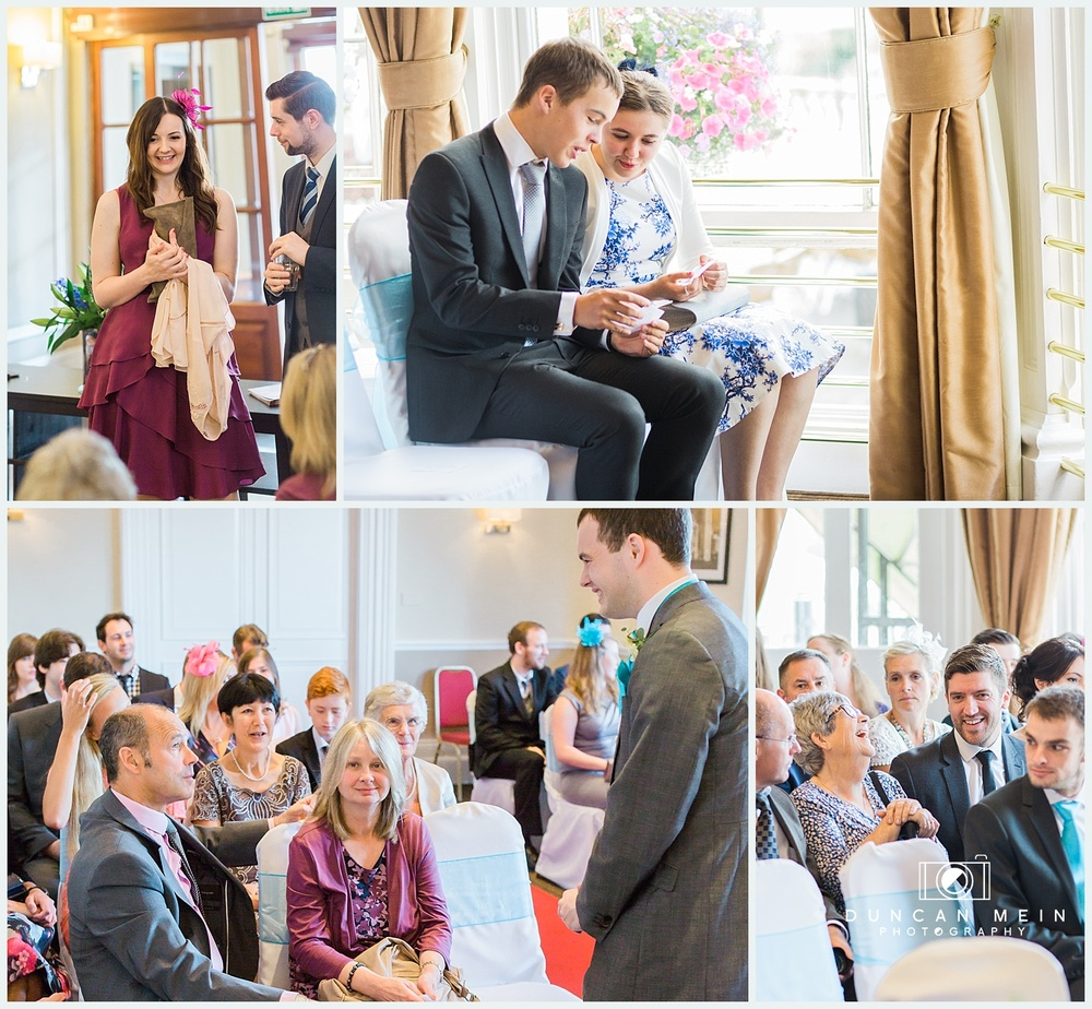 Weddings at Avon Gorge Hotel - Wedding Ceremony in the Clifton Suite