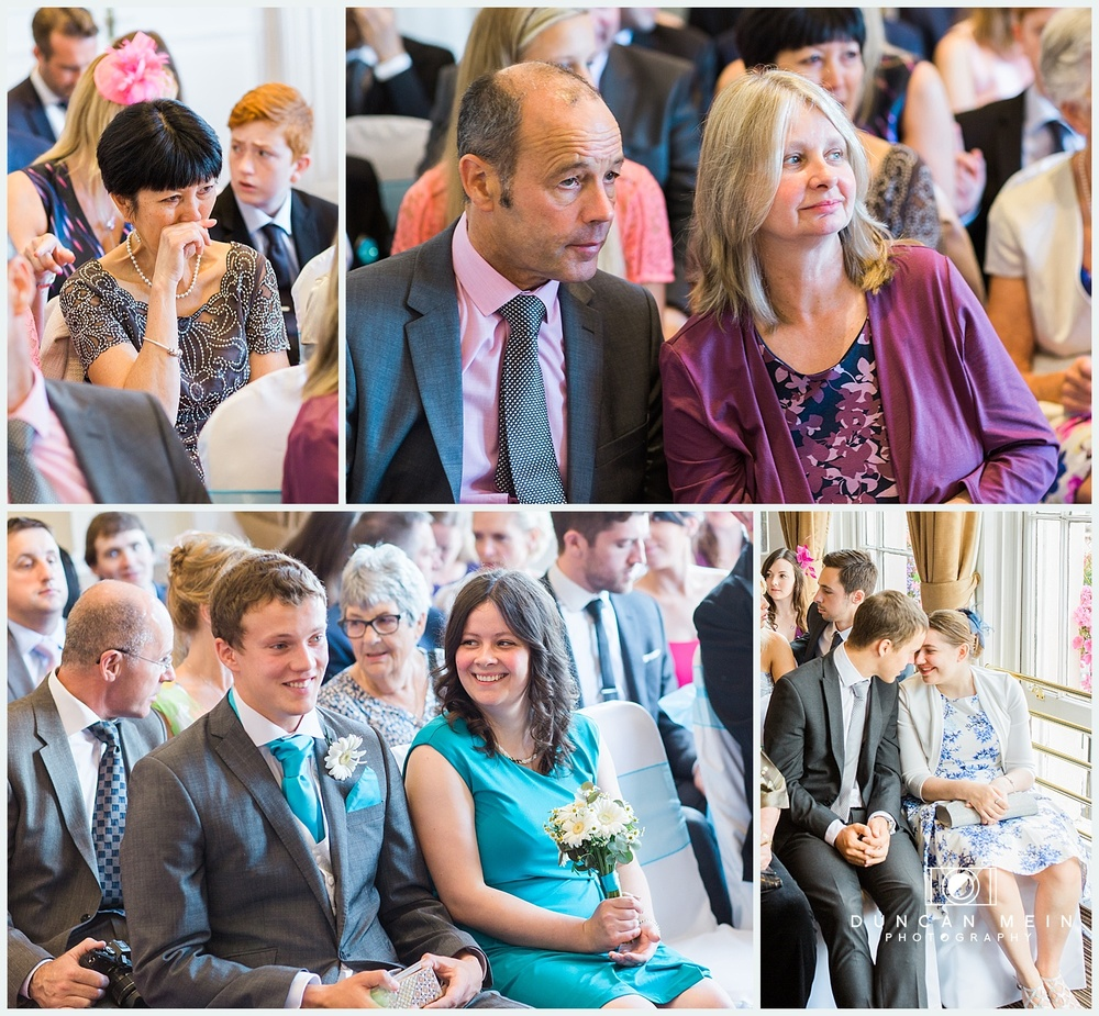 Weddings at Avon Gorge Hotel - Wedding Ceremony Candid Guest Pictures