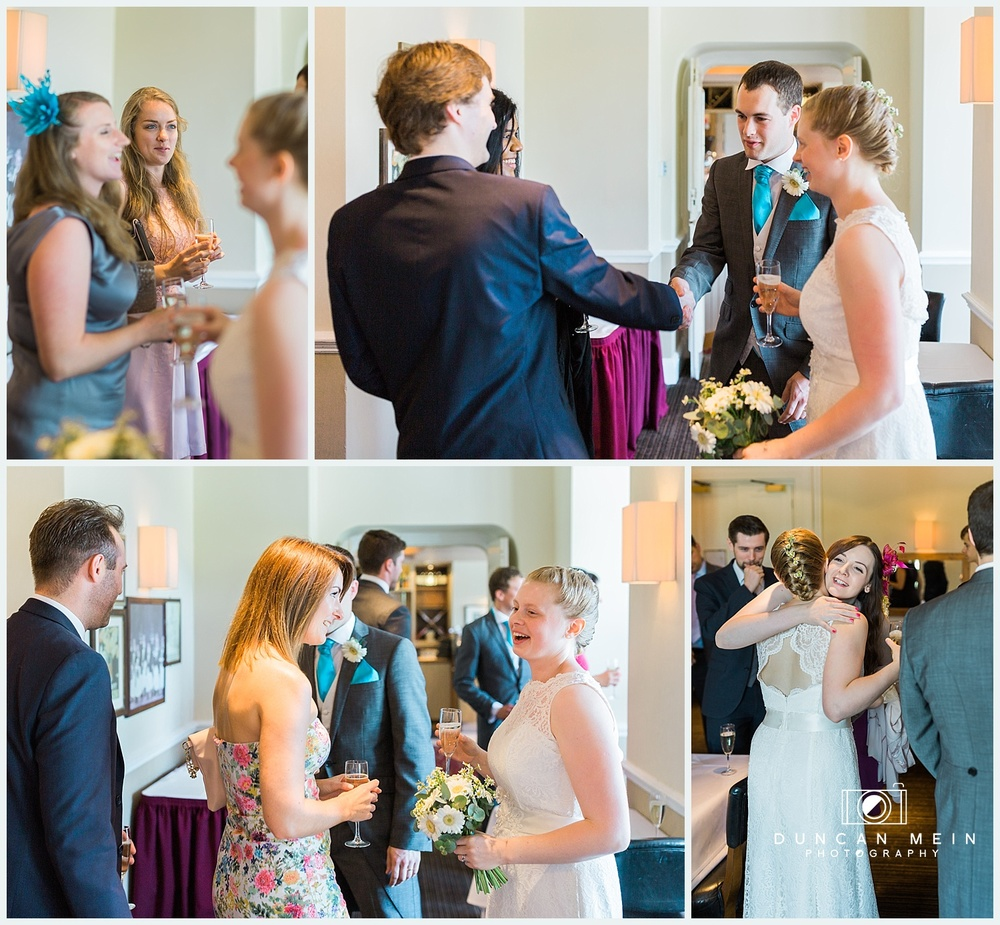 Weddings at Avon Gorge Hotel - Champagne Reception