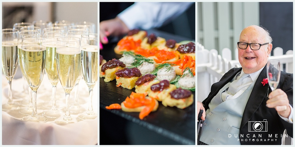 Weddings at Avon Gorge Hotel - Champagne Reception and Canapes