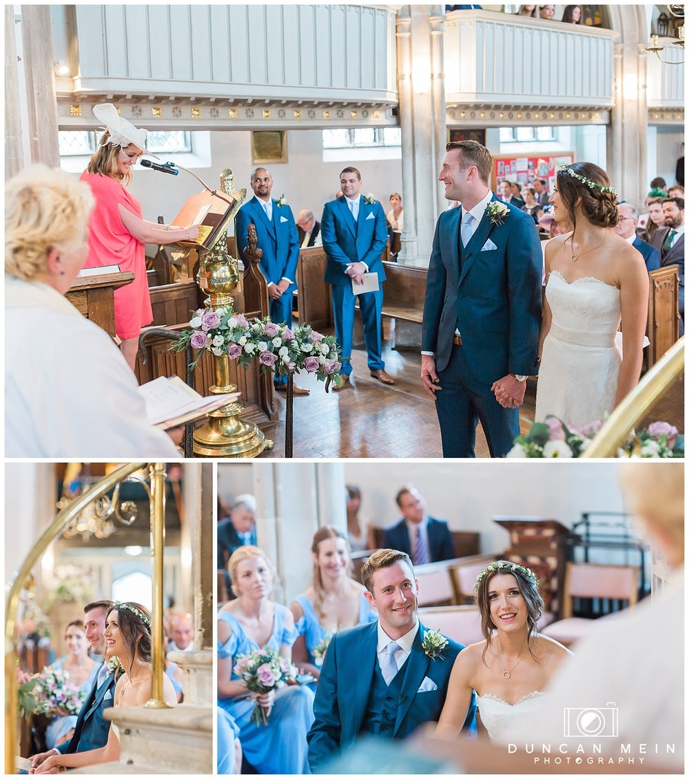 Rustic Barn Wedding in Somerset - Readings During the Ceremony