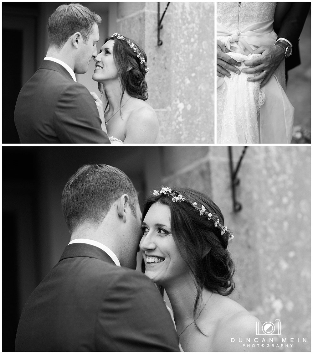 Rustic Barn Wedding in Somerset - Bride and Groom Portraits at the Farmhouse