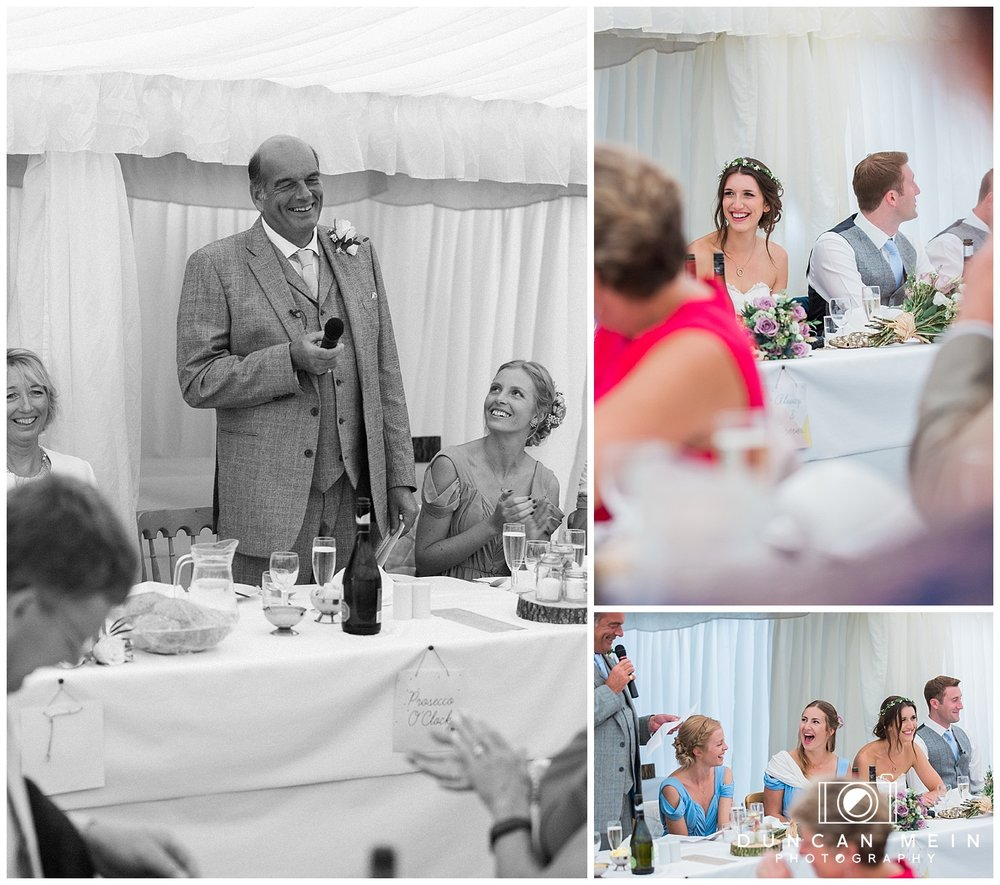 Rustic Barn Wedding in Somerset - Father of the Bride Speech