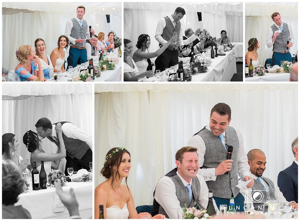 Rustic Barn Wedding in Somerset - Groom and Best Man Speeches
