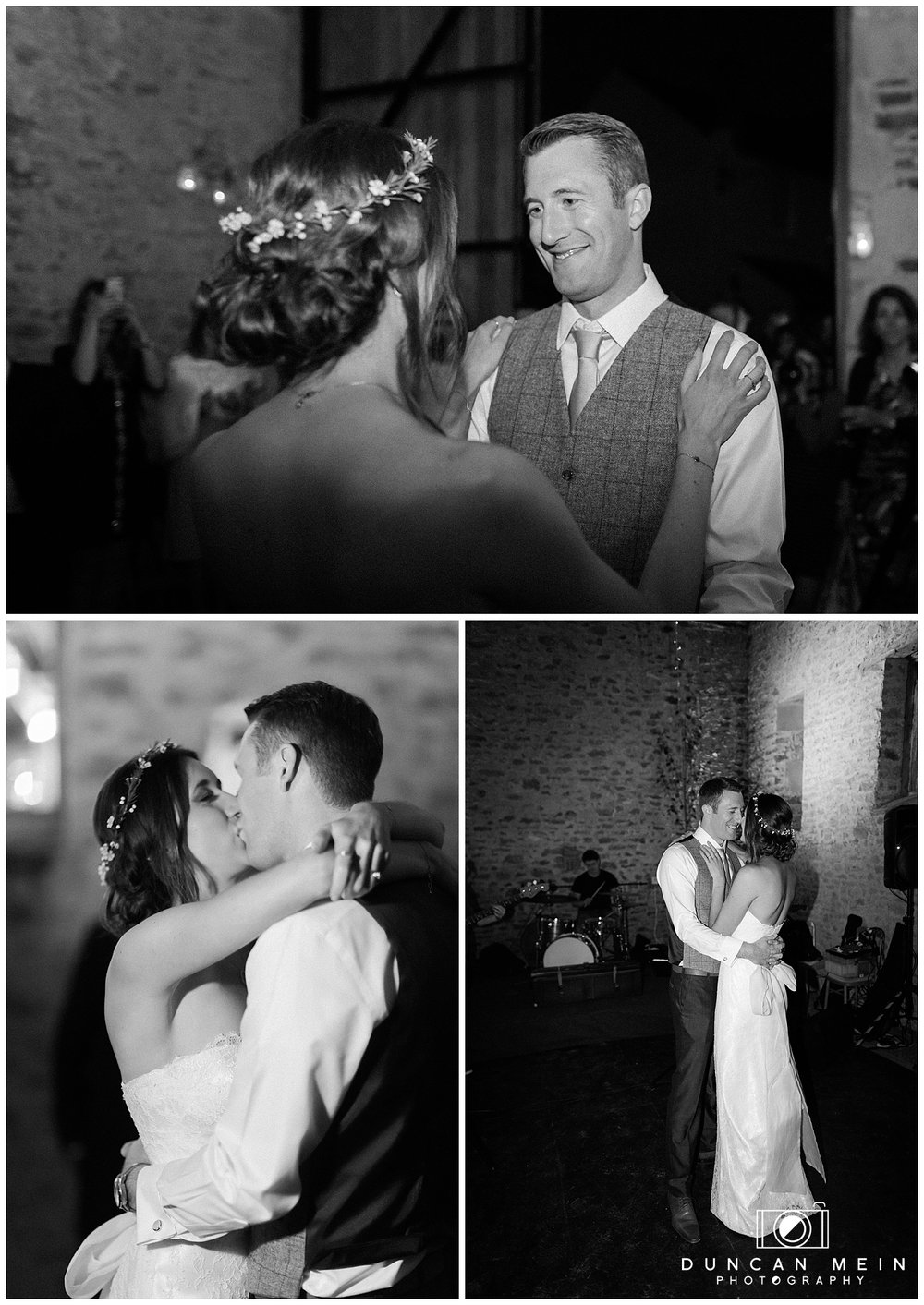 Rustic Barn Wedding in Somerset - First Dance as Husband and Wife