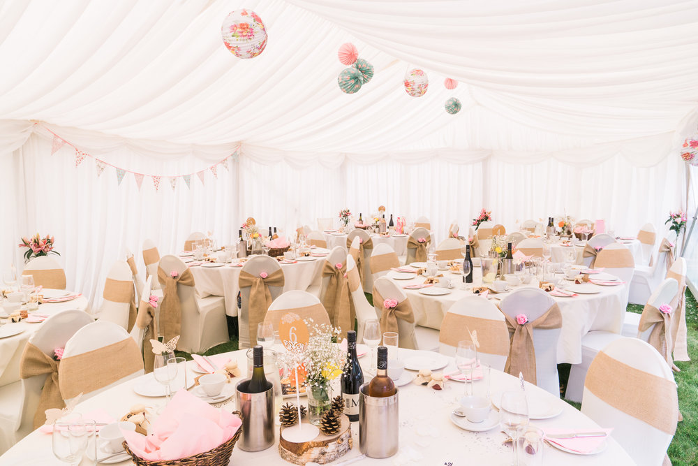 Wedding At Seftons Barn - Marquee