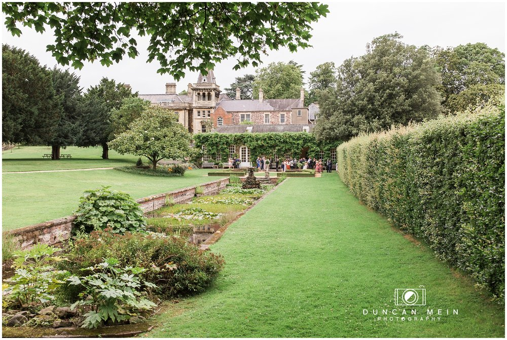 Wedding at Goldney Hall - Gardens at Goldney Hall
