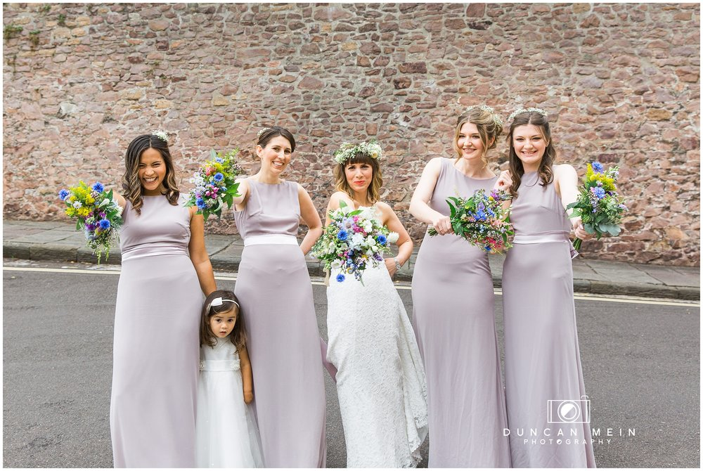 Wedding at Goldney Hall - Bridemaids