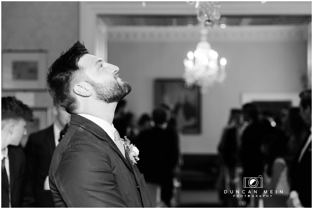 Wedding at Goldney Hall - Groom