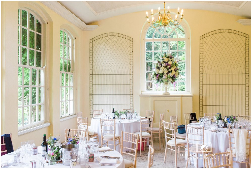 Wedding at Goldney Hall - Orangery
