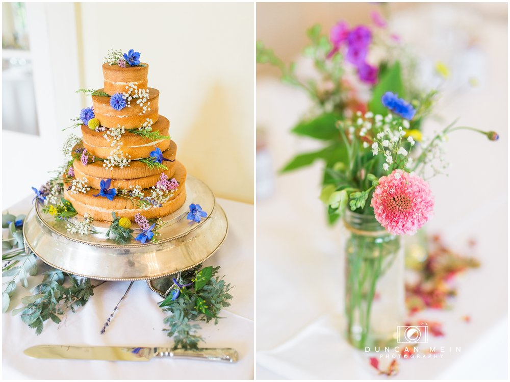 Wedding at Goldney Hall - Cake and decorations