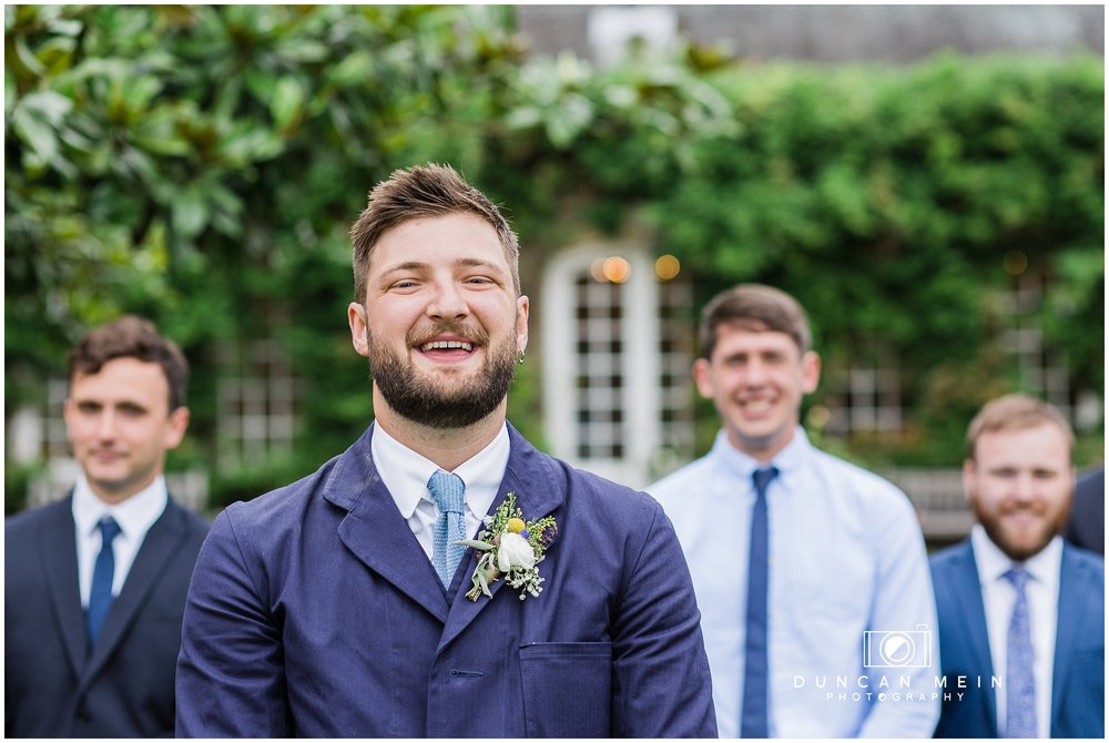 Wedding at Goldney Hall - Groom portrait