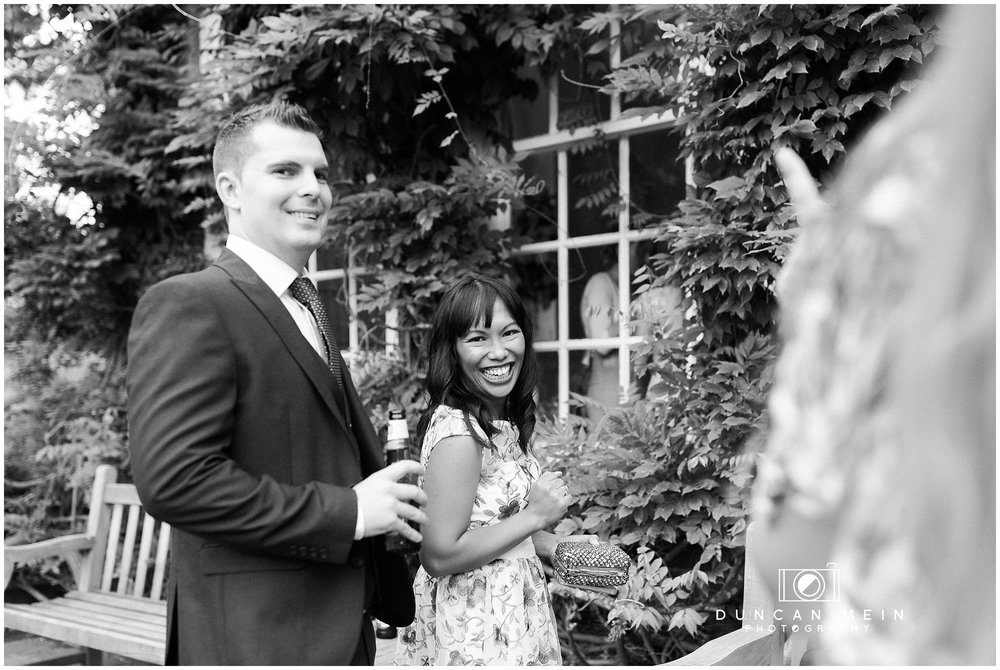 Wedding at Goldney Hall - Guests at the reception