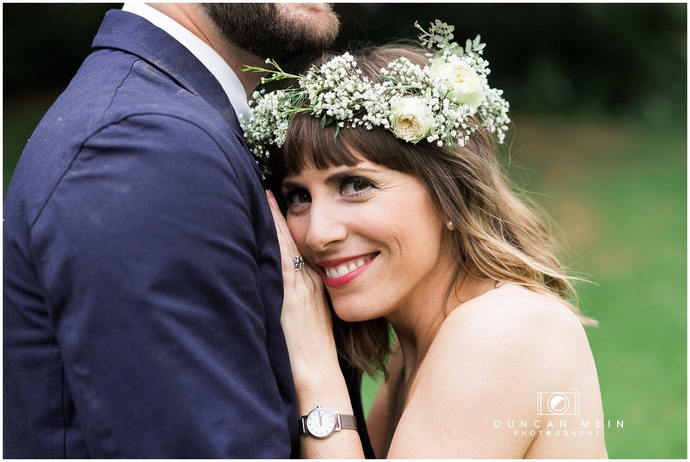Wedding at Goldney Hall - Bride and Groom Portrait