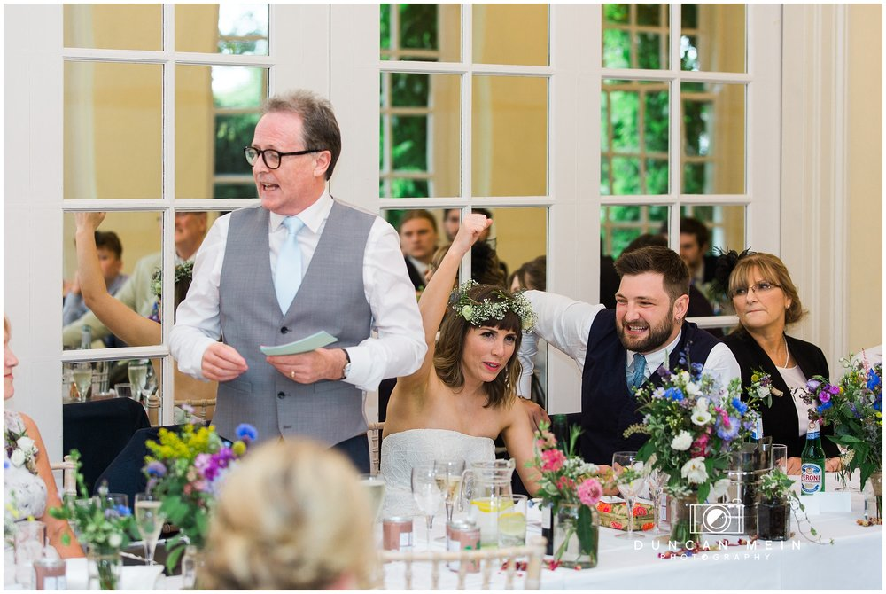 Wedding at Goldney Hall - Wedding Speeches