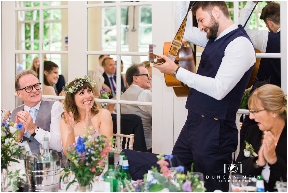 Wedding at Goldney Hall - Groom's Speech