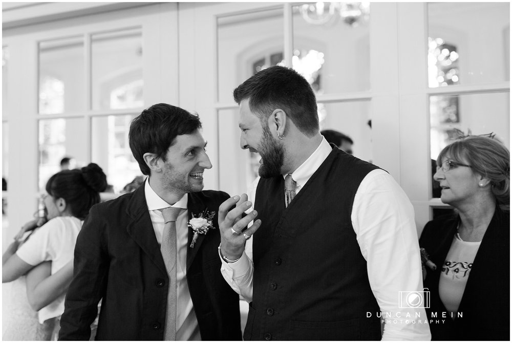Wedding at Goldney Hall - Groom and Best Man