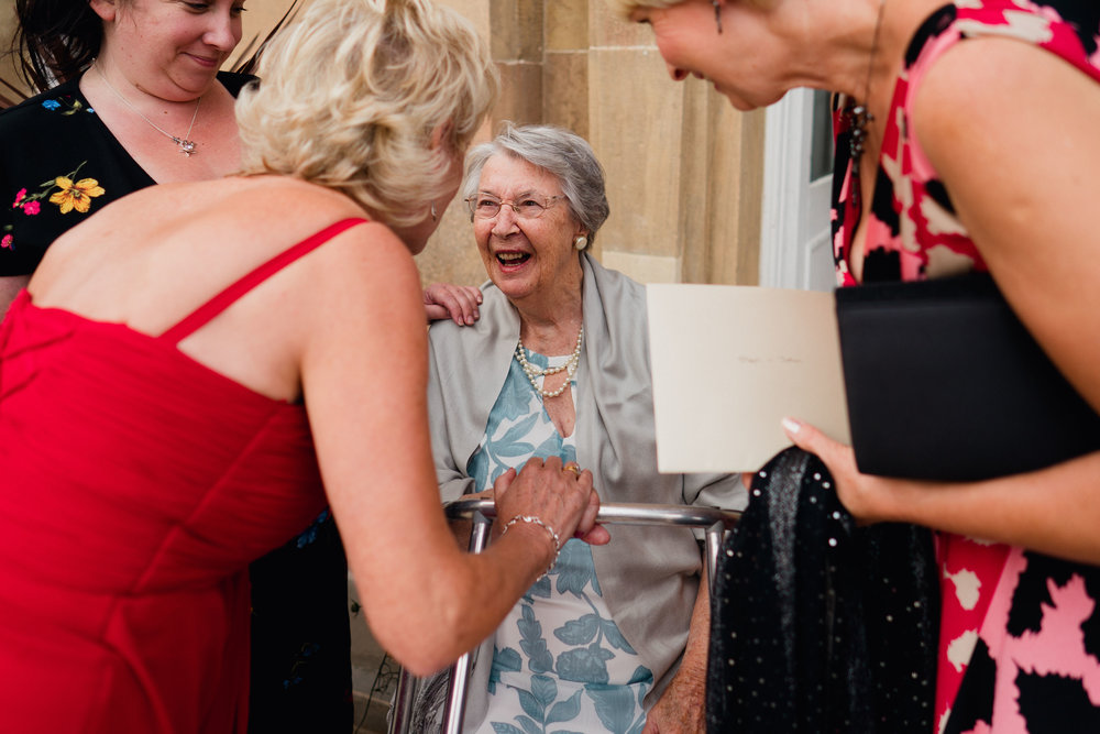 Kings Weston House Wedding - Champagne Reception