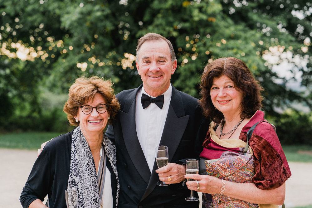 Kings Weston House Wedding - Portrait of Wedding Guests