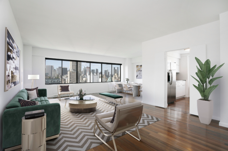 900 Park Avenue, Unit 21E, Upper West Side :: 2 Bed, 2 Bath