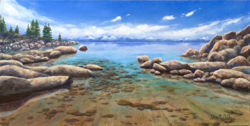 """Tahoe Beach"""